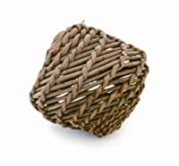 100% Natural Willow Great for playing and nibbling Keeps teeth trim Perfect for small animals