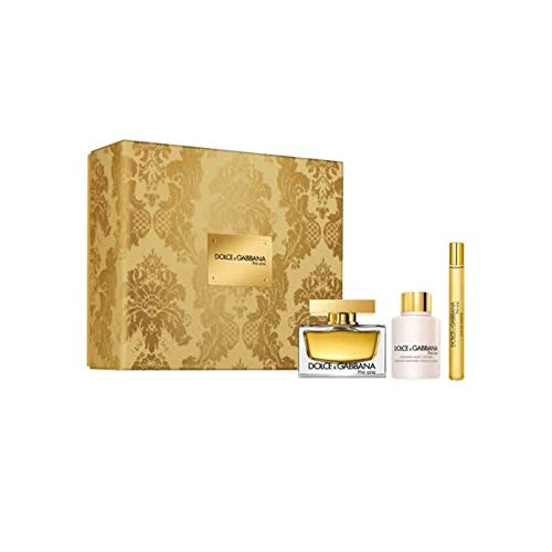 Dolce & Gabbana The One Eau De Parfum Spray 75ml Set 3 Pieces 2019