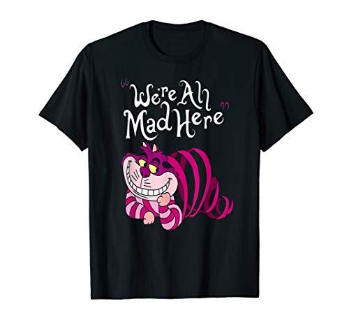 Wir sind alle hier wütend Hemd Cheshire Katze