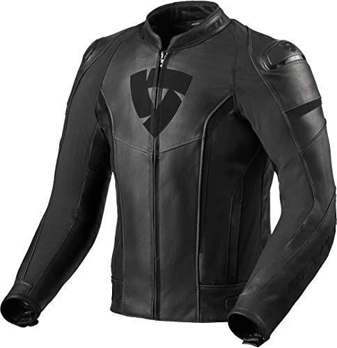 Chaqueta para moto Rev'it Glide Vintage negro talla 54