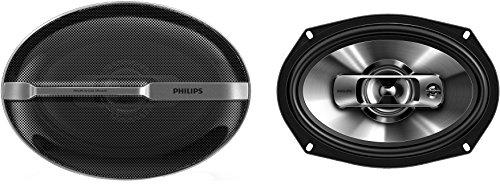 Philips PHICSP6911 - Altavoces coaxiales para Coche (6 x 9, 2 vías, 300 W) Color Negro