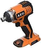 AEG BSS 18C-0 power wrench Nero, Arancione, Argento