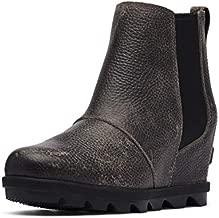 Sorel Women's Joan of Arctic Wedge II Chelsea Boot - Light Rain - Waterproof - Quarry - Size 8.5