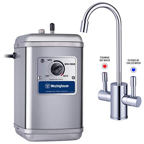 Westinghouse Instant Water Dispenser, Includes Chrome Hot and Cold Faucet