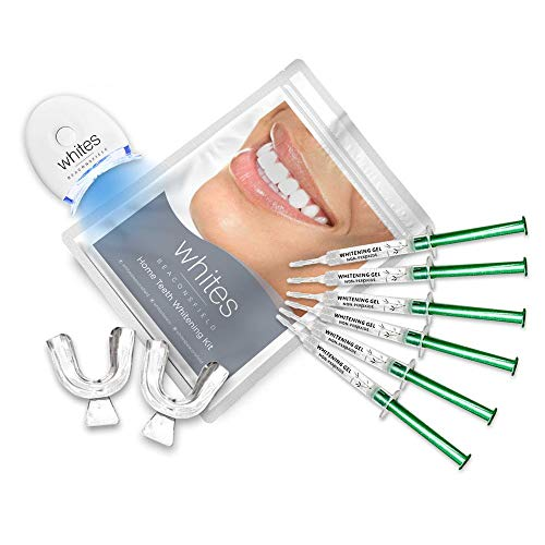 Professionelles Zahnweißungsset für Zuhause | 6 wiederverwendbare Gels | für weißere Zähne in nur 15 Minuten | Entfernt Verfärbungen | 100% effektiv | produziert von Whites Beaconsfield