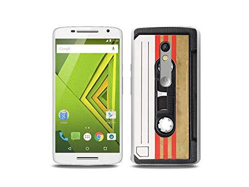 etuo Handyhülle für Motorola Moto X Play - Hülle, Silikon, Gummi Schutzhülle - Kassete