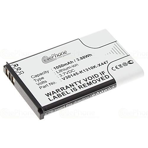 cellePhone Akku Li-Ion kompatibel mit Siemens Gigaset SL910 / SL910A / SL910H (Ersatz für V30145-K1310K-X447)