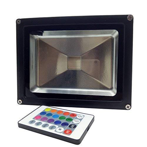 YXH® 20W Proyector RGB LED, Foco Cambio de color Ac 85-240V,LED Luz...