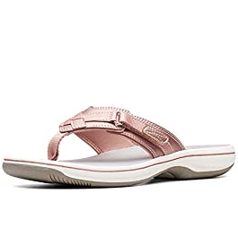 Clarks Women's Brinkley Sea Flip Flops