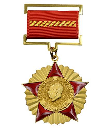 JXS China Insignia de Memorial de la Guerra de Corea, Medalla de fundición de la aleación, réplicas recolectadas por los fanáticos Militares