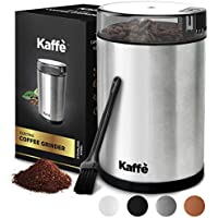Kaffe Stainless Steel Electric Coffee Grinder 3 Oz