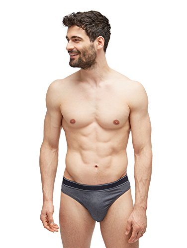 TOM TAILOR Underwear Herren Mini Slip, Blau (Navy 7000), Large (Herstellergröße: L/6)