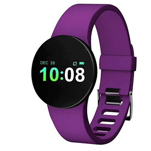 ZLLAN Rastreador de Ejercicios, Reloj Inteligente con/Monitor, Rastreador de Ejercicios de Pantalla a Color Resistente al Agua, Pulsera Inteligente con Contador de calorías, Monitor de sueño Bluetoo