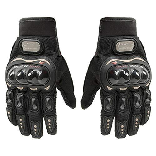 Winter voller Finger Motorrad Motocross Leder Motorrad Moto Racing Handschuhe Probiker Brands L