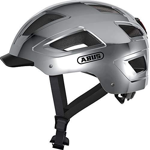 ABUS Fahrradhelm Hyban 2.0 Chrome Silver L