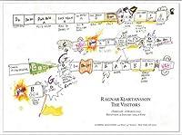 ポスター ラグナル キアルタンソン The Visitors February 1 ? March 6 2013年 額装品 アルミ製ベーシックフレーム