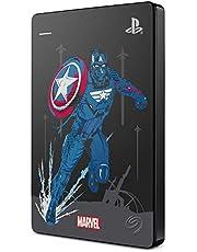 Seagate Game Drive per PS4 Avengers: Captain America Special Edition, 2 TB, Disco Rigido Esterno Portatile, USB 3.0, PS4 (STGD2000206)