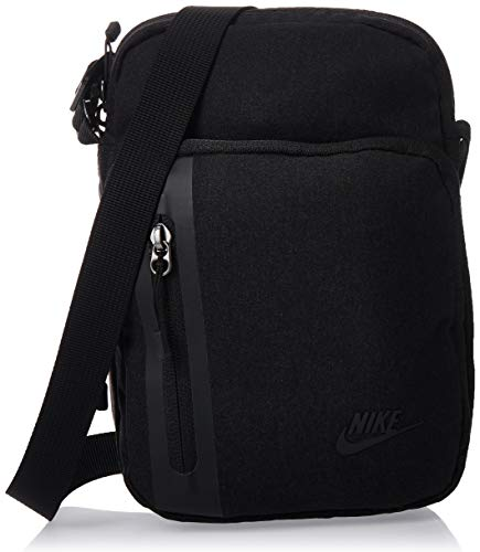Nike Tech Crossbody Tasche, Black/Black/Black, One Size