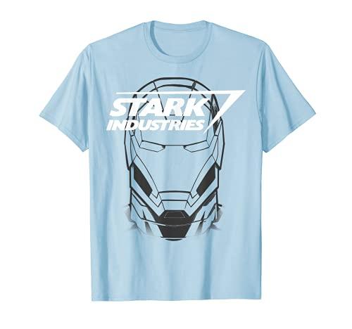 Marvel Avengers Iron Man Stark Industries Graphic T-Shirt