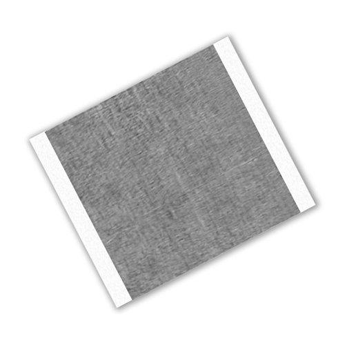 TapeCase 420 - Cinta adhesiva de plomo y caucho de color plateado oscuro, 3,81 x 3,81 cm - 100 unidades, de 3 m de grosor, 3,81 cm de largo, 3,81 cm de ancho, cuadrados (paquete de 100)
