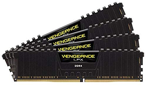 Corsair Vengeance LPX 128GB (4x32GB) DDR4 3600 (PC4-28800) C18 1.35V PC- Arbeitsspeicher - schwarz