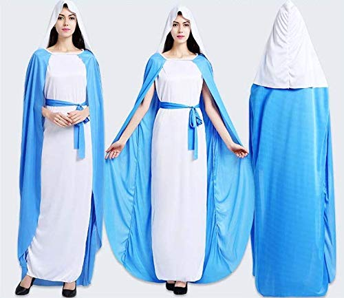 color 12772 Atosa-12772 Atosa-12772-Disfraz De Virgen ni/ña beb/é-talla 0 a 6 meses blanco-Navidad