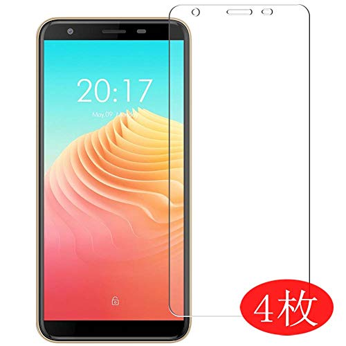 【4 Pack】 Synvy Screen Protector for Ulefone S9 Pro 0.14mm TPU Flexible HD Clear Case-Friendly Film Protective Protectors [Not Tempered Glass] New Version