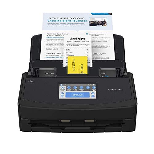 ScanSnap iX1600 Desktop Dokumentenscanner Schwarz - Duplex, ADF, A4, WLAN, Touchscreen, USB 3.2