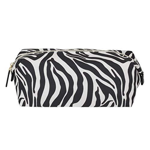 Naomi Campbell collectie - toilettas organizertas - Zebra Print - L25.5 x B15 x H10.5 cm - Capaciteit 4.5L