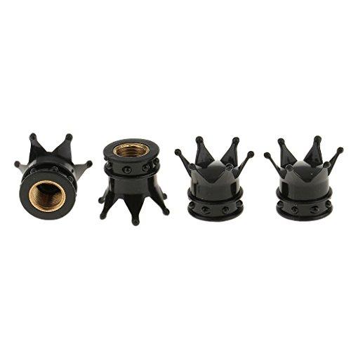 magideal 4x Auto Neumático Válvula de Aire Tapas Cilindro de Polvo del Aire Tapa de Rosca densas Aire Polvo Protección–Tapa