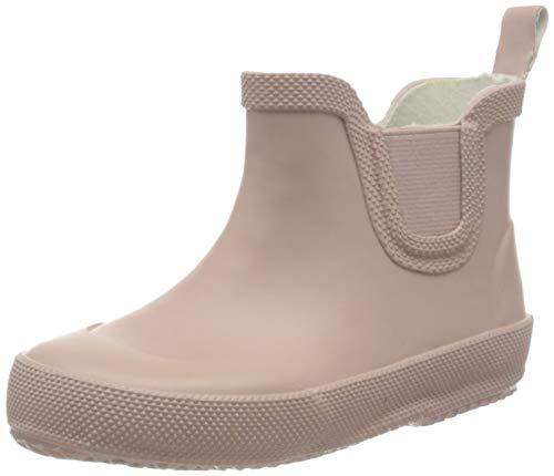 CeLaVi Jungen Unisex Kinder Basic wellies short Rain Boot, Pink Misty Rose, 19 EU