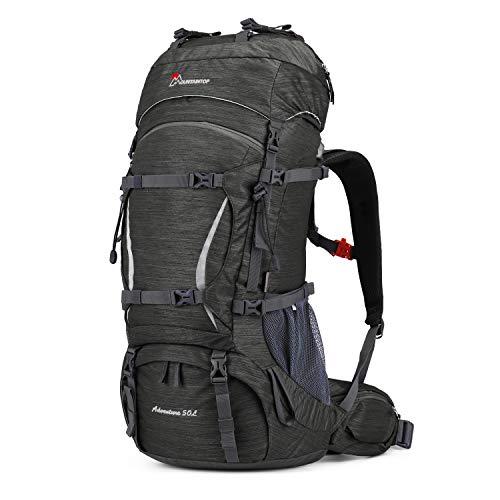 MOUNTAINTOP 50L Rucksack Trekkingrucksack für Wandern Camping Reisen Backpacking Bergsteigen