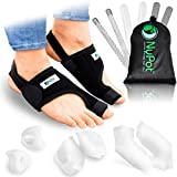 NYPOT Bunion Corrector for Women and Men - Orthopedic Bunion Splint, Hammer Toe Straightener for Women, Turf Toe Brace, Hallux Valgus Corrector , Big Toe Separators, Night Day Support