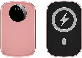 TWDYC Bärbar magnetisk powerbank, 15 W trådlös snabbladdare, 22,5 w Pd trådbundet externt batteri, kompatibelt med iPhone ...