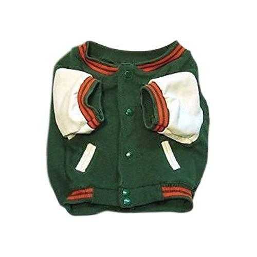 Sporty K9 Miami Varsity Dog Jacket, Large