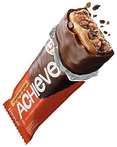 ahead ACHIEVE – Keto Riegel - 18 x 35g - Schokolade Kokosnuss mit Kakaonibs - Low Carb Süßigkeiten ohne Zuckerzusatz