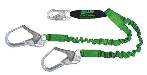 Miller by Honeywell 8798RSS-Z7/6FTGN Ansi Z7 2 Leg Stretchstop Restraint Rope