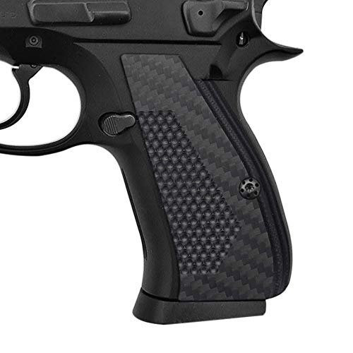 Coolhand 3K Carbon Fiber Grips for CZ 75/85 Compact, CZ P-01, P100, C100, T100, PCR, CZ 75 D, Custom Screws Included, SPC-CFB3