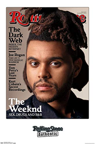 Trends International Rolling Stone Magazine - The Weeknd 15 Wall Poster, 14.725' x 22.375', Premium Unframed Version