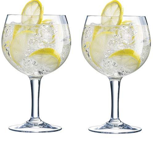 2 x Arcoroc Gin Glasses