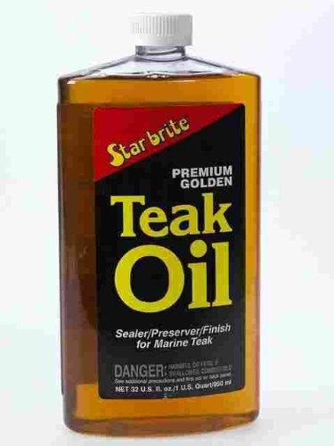 STAR BRITE Premium Gold Teak Oil Quart