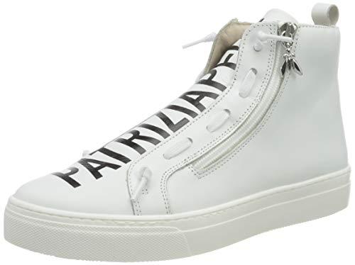 Patrizia Pepe PPJ501 Sneaker, White, 39/39.5 EU