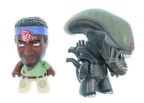 Titan Merchandise Alien Titans: Bloody Parker & Bloody Alien 3' Vinyl Figure (2 Pack)