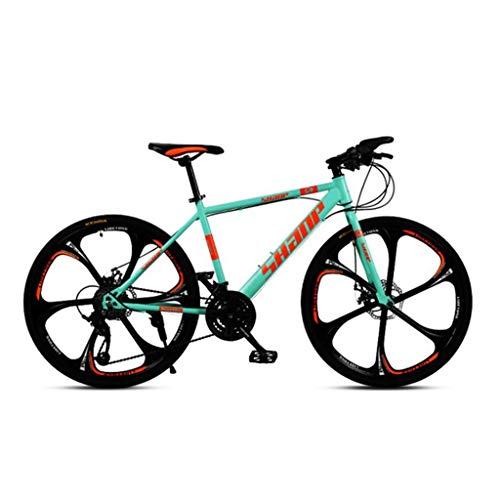 Mountain Bike bicicletta MTB Sportiva da Montagna Mountain bike, Hard-coda della bicicletta della montagna, doppio freno a disco e sospensioni forcella anteriore, 26inch Mag Wheels Mountain Bike Mens