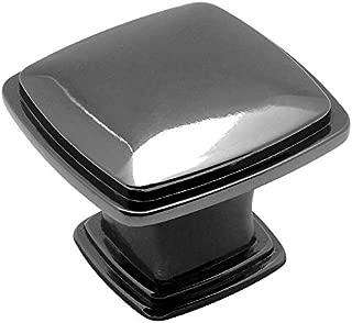 10 Pack - Cosmas 4391BN Black Nickel Modern Cabinet Hardware Knob - 1-1/4