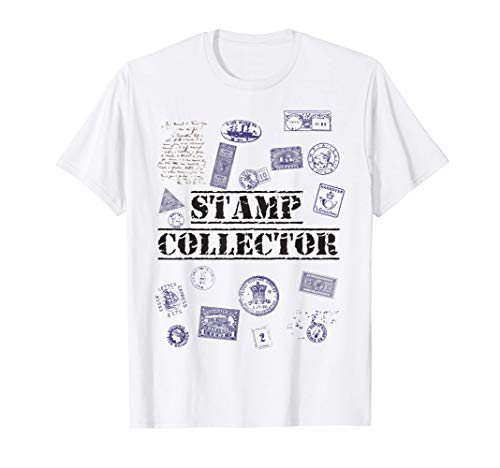 Stamp Collector, Stamp Collection T-Shirt