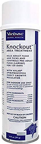 Virbac Knockout Area Treatment Spray 14 oz