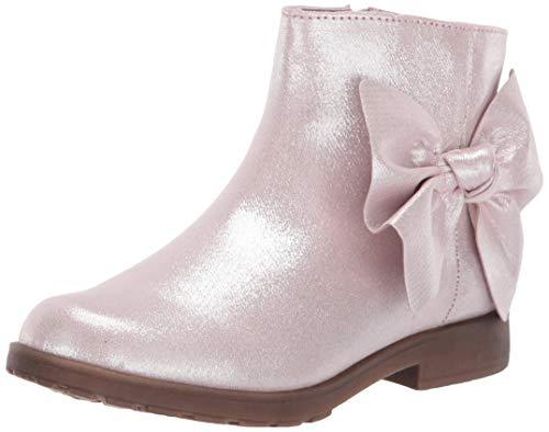 Stride Rite Baby-Girl s SR Lorraine Fashion Boot, Pink, 4 Big Kid