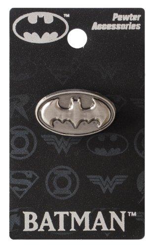 DC Batman Logo Épinglette en étain Argenté 2,5 cm