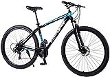 MJY Bicicleta, bicicleta de montaña, bicicleta de carretera, bicicleta de cola dura, 29 pulgadas 21/24/27 bicicleta de velocidad, hombres mujeres bicicleta de carreras de aluminio ligero 7-10,21 velo